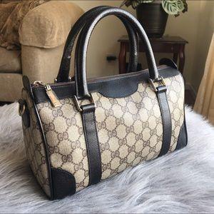 Authentic Gucci boston bag vintage